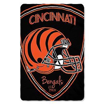 Cincinnati Bengals NFL Northwest Shield Fleece Throw