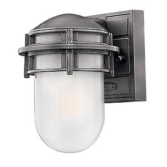 Elstead Riff - 1 Licht Outdoor Deckenlaterne viktorianischen Bronze IP44, E27
