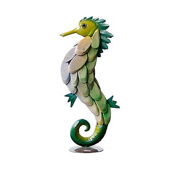 Wooden Crafts Seahorse Shape Ornament Home Decoration