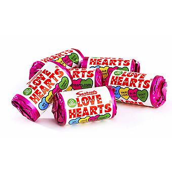 Swizzels Love Hearts Mini Rolls 3kg