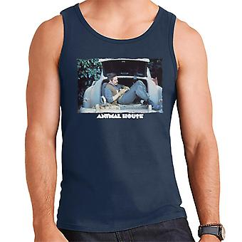 Animal House Daniel Simpson Sitting In Car Boot Men's Vest
