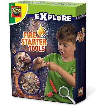 SES Creative Children's Explore Fire Starter Tools (25075)
