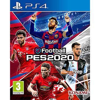 Jeu de Pro Evolution Soccer PES 2020 PS4