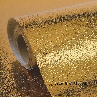 Kitchen Wall Stove Aluminum Foil Oil-proof Stickers Anti-fouling