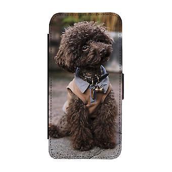 Brun Pudel Samsung Galaxy S9 Plånboksfodral
