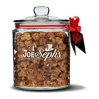 Gourmet Popcorn Glass Biscotti Jar