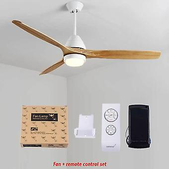 Modern Ceiling Fan,  With Light 52 Inch Creative Ceiling Fan Lamps 4 Color