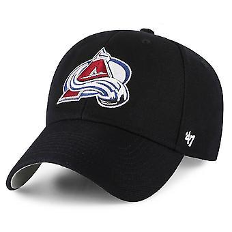 47 العلامة التجارية قابل للتعديل كاب -- NHL كولورادو الانهيار الجليدي الأسود