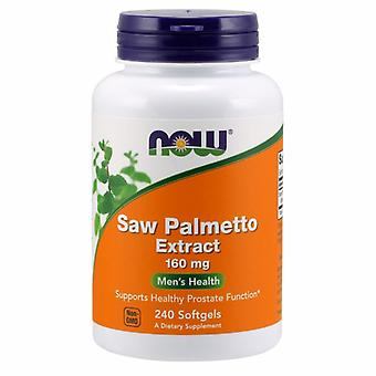 Now Foods Saw Palmetto Extract, 160 mg, 240 Softgels