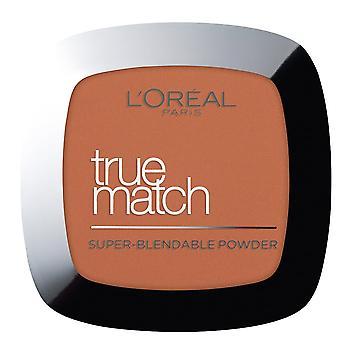 L'Oreal True Match - Super Blendable Powder - (d.8/w.8 - Golden Cappucino)