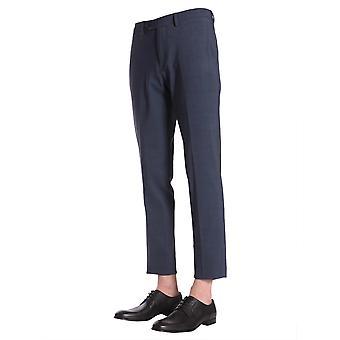 Traiano Tp08cotr10tflb Men's Blue Nylon Pants