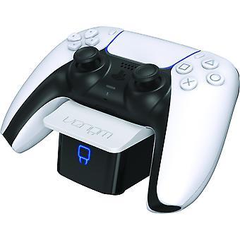 Dual sense controller docking station - white (ps5)