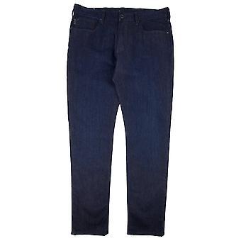 Emporio Armani J06 Five Pockets Slim Fit Jeans Denim Blue 0941