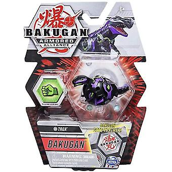 Bakugan Armored Alliance 1 Pack 2 Inch Figure Trox (Darkus Faction)