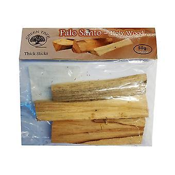 Green Tree Palo Santo Holy Wood Thick Sticks