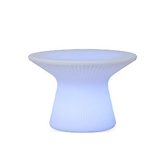 Lampada a forma di tavolo rotondo