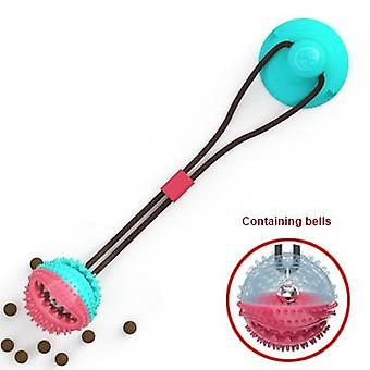 Pet Dog Toys Silicon Suction Cup With Pet Tooth Cleaning