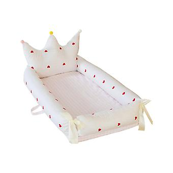 Newborn Babynest, Removable Baby Crib Bassinet/sleeping Basket