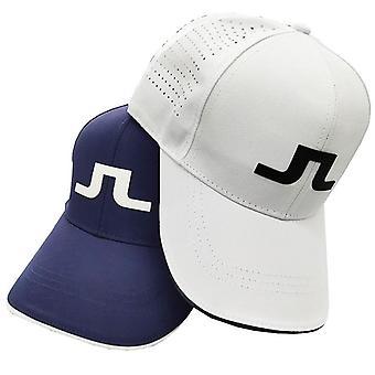Muži a ženy Nastavitelný venkovní sportovní golfový klobouk, tenisový slunečník prodyšná čepice