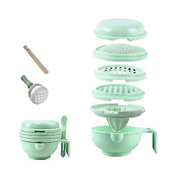 Supplément alimentaire de broyage, trousse d'hygiène de vaisselle d'alimentation- plaque manuelle de nibbler,