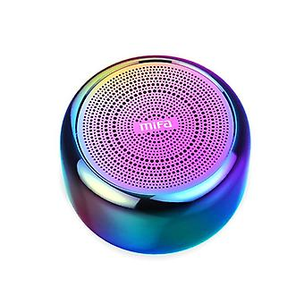 Bærbar Bluetooth-højttaler - indbygget mikrofon og aluminiumslegeringskrop