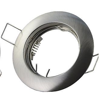 Round Shape, Waterproof, Recessed -spotlight Mounting-metal Frame