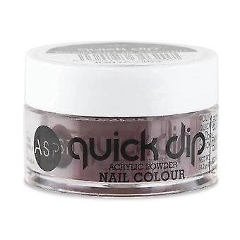ASP Quick Dip Acrylic Dipping Powder Nail Colour - Eggplant-in-Around