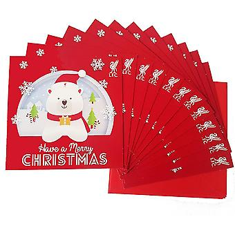 Liverpool FC Christmas Card (Pack of 12)