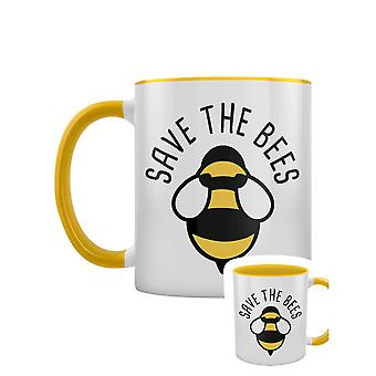 Grindstore Save The Bees Kaksisävyinen muki