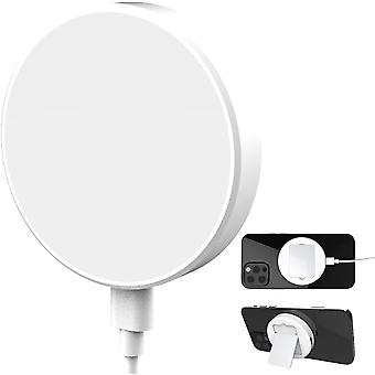 Kdely Magnetic Wireless Charger Qi 15W Fast Wireless Charging Pad Magnet Cordless Charger