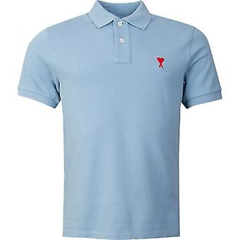 Ami Heart Logo Polo Shirt