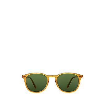 Garrett Leight KINNEY SUN butterscotch unisex sunglasses