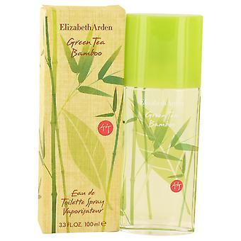 Vihreä tee bambusta tekemällä Elizabeth Arden Eau De Toilette Spray 3,3 oz/100 ml (naisten)