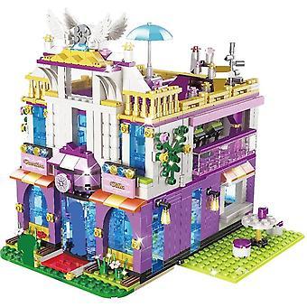961pcs Private Luxury Villa Building Blocks Toy