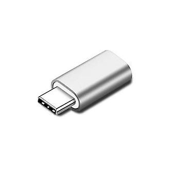 Lightning (iPhone) À USB-C Adaptateur (Argent)