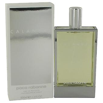 Calandre Eau De Toilette Spray By Paco Rabanne 3.4 oz Eau De Toilette Spray