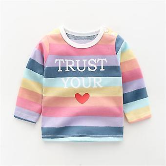 Toddler Clothes, Cartoon Long Sleeve T-shirt