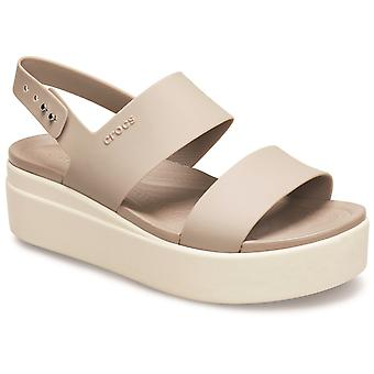 Crocs women's brooklyn low wedge platform sandal ulike farger 31458