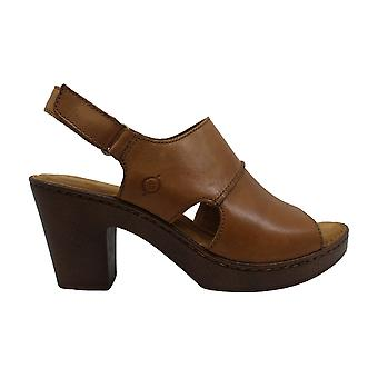 Born Womens Wekiva Leather Open Toe Casual Ankle Strap Sandals