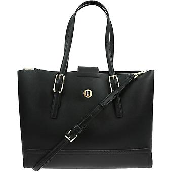 Tommy Hilfiger Honey Med Tote AW0AW09657BDS everyday  women handbags