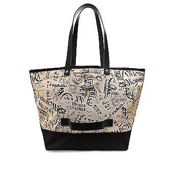 Vivienne Westwood Accessories Africa Canvas Utility Shopper Bag