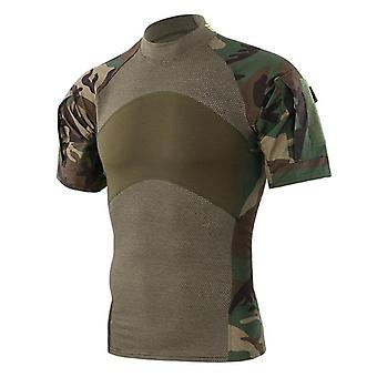 Summer Shirts, Quick Drying, Fishing Shirt, Tactical Army Camouflage, Tops