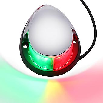 Abs Led Navigation Light, Signal Warning Lamp, Waterproof For Marine Boat,