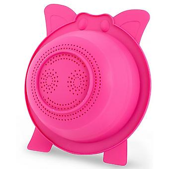 pour Oink! 23.8 x 9 cm silicone pink