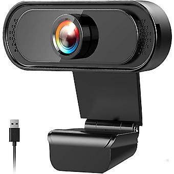 FengChun Webcam PC Full HD 1080P mit Mikrofon, Webcam, USB 2.0 Mini-Plug-and-Play Videoanrufe,