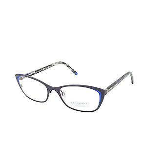 Face A Face Eyeglasses Frame JOYCE 2 Col. 9440 Acetate Matte Dark Violet Flashy