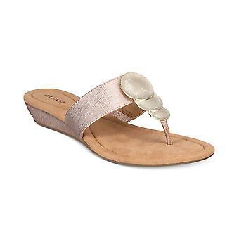 Alfani Womens Fleurr Wedge Sandals