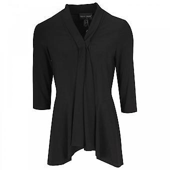 Frank Lyman borde a borde de manga 3/4 negro chaqueta