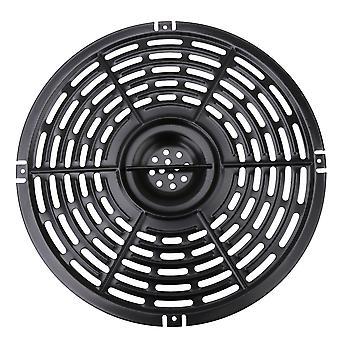Air Fryer Replacement Grill Pan 22cm Round Non-stick Crisper Plate Black