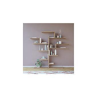 Tree Sonoma Color Library, i Truciolare Melaminico L175xP25xA161 cm